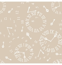 background with vintage clockfaces vector image vector image