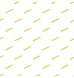 Flute pattern cartoon style vector image