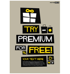 try premium for free vector image