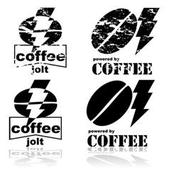 Coffee jolt vector image