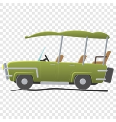 Electra golf car vector