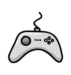 Control video game isolated icon design vector