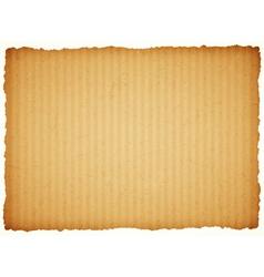 cardboard paper frame vector image vector image