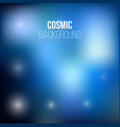 cosmic adstract backround vector image