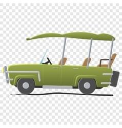 Electra golf car vector