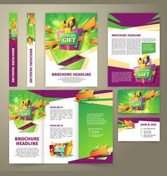 Flyer for sales promotion brochure vector