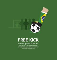 Free kick vector