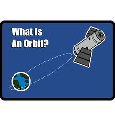 What is an orbit vector