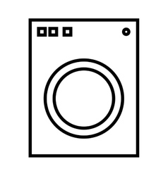 Washer appliance equipment vector