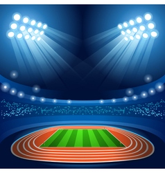 Stadium background summer games 2016 vector