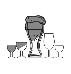 Beer drink design vector
