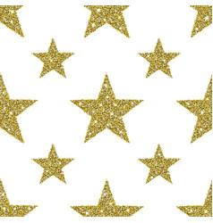 gold glitter stars background vector image vector image