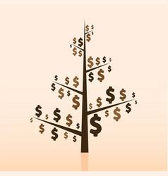 money making opportunities tree vector image vector image