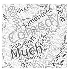 Seattle Laughter is Good Medicine Word Cloud vector image