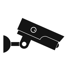 security camera icon simple style vector image