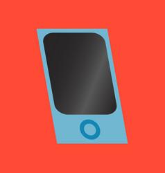 Technology gadget in flat design mp3 player vector