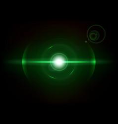 Green space explosion cosmos burst vector