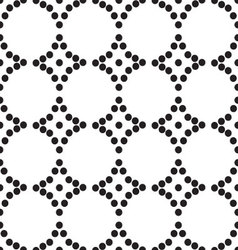 Ornament seamless monochrome vector