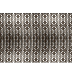 Argyle background pattern vector