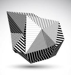 Decorative distorted eps8 element with parallel vector