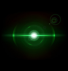 green space explosion cosmos burst vector image
