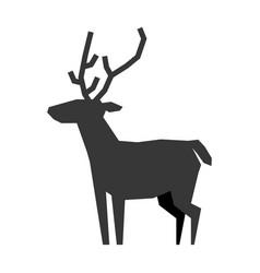reindeer christmas animal vector image vector image