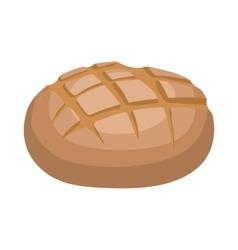 Rye bread icon cartoon style vector image vector image