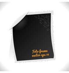 Vintage Foto Frame vector image