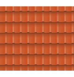 Roof tiles vector