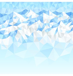 mountains blue vector image