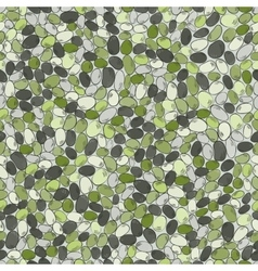 Sea stonesseamless pattern with colored stones vector