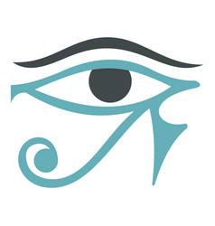 Eye of horus icon isolated vector