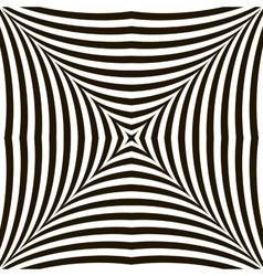 Black and white geometric shimmering optical vector