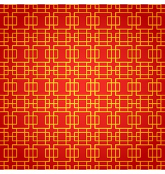 National chinese seamless pattern Chinese new year vector image