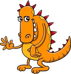 Fantasy dragon cartoon vector