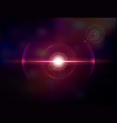 Magenta space explosion cosmos burst vector