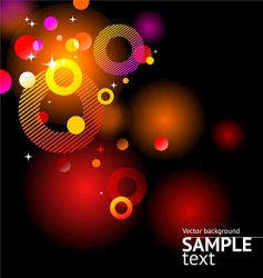 abstract glittering background vector image