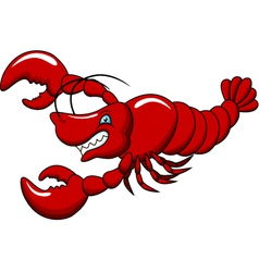 Lobster cartoon vector