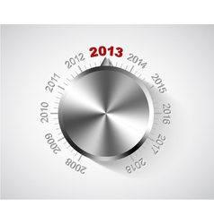 2012 New Year card vector image