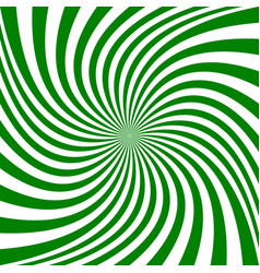 Green abstract spiral background vector