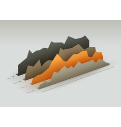 paper graphs vector image