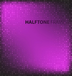 Set of Modern Flat Halftone Backgrounds vector image