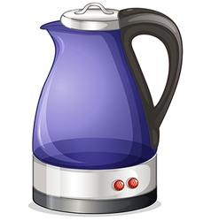 An electric kettle vector
