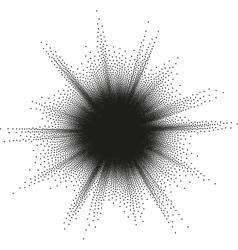 Starburst halftone eps 10 vector