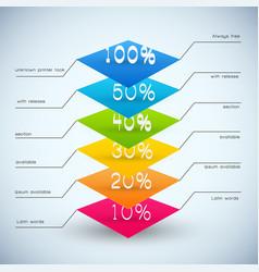 Business diagram templates vector