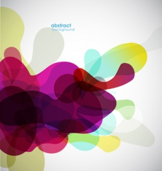 abstract liquid vector image