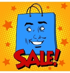 Gift pack face sale vector