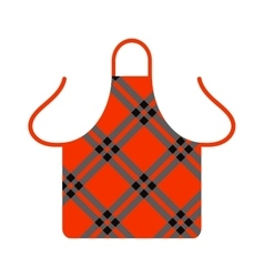 Kitchen apron cooking chef uniform protective vector