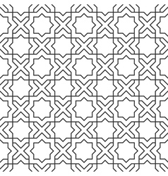 Delicate pattern in islamic style vector