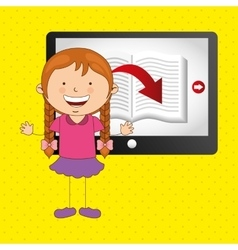 small students design vector image